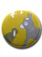 Button Badge Donkey&Lop