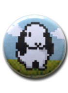Button Badge Pixel