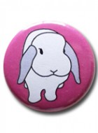 Button Badge Pink