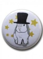 Button Badge Tophat