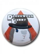 Button Badge Ploppwork Bunny