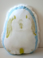 Lop Bunny Throw Pillow
