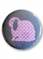 Button Badge – Stripes or Dots