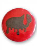 Button Badge – Melting Chocolate Lop