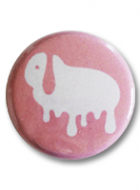Button Badge – Spilt Milk Lop
