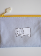 Zipper Pouch – Pu the bunny