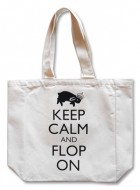 Tote Bag – Keep Calm and Flop On