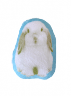 Fabric Brooch – Lop Bunny