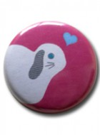 Button Badge Heart