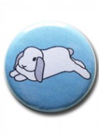 Button Badge Blue