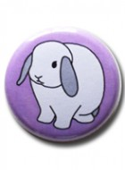 Button Badge Purple