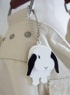 Lop Bunny Keyring