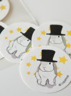 Stickers – Top Hat Bunny