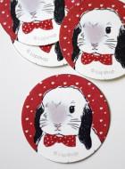 Stickers – Bow Tie Lop Bunny