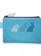 Zipper Pouch – Bunny Bunny Bunny